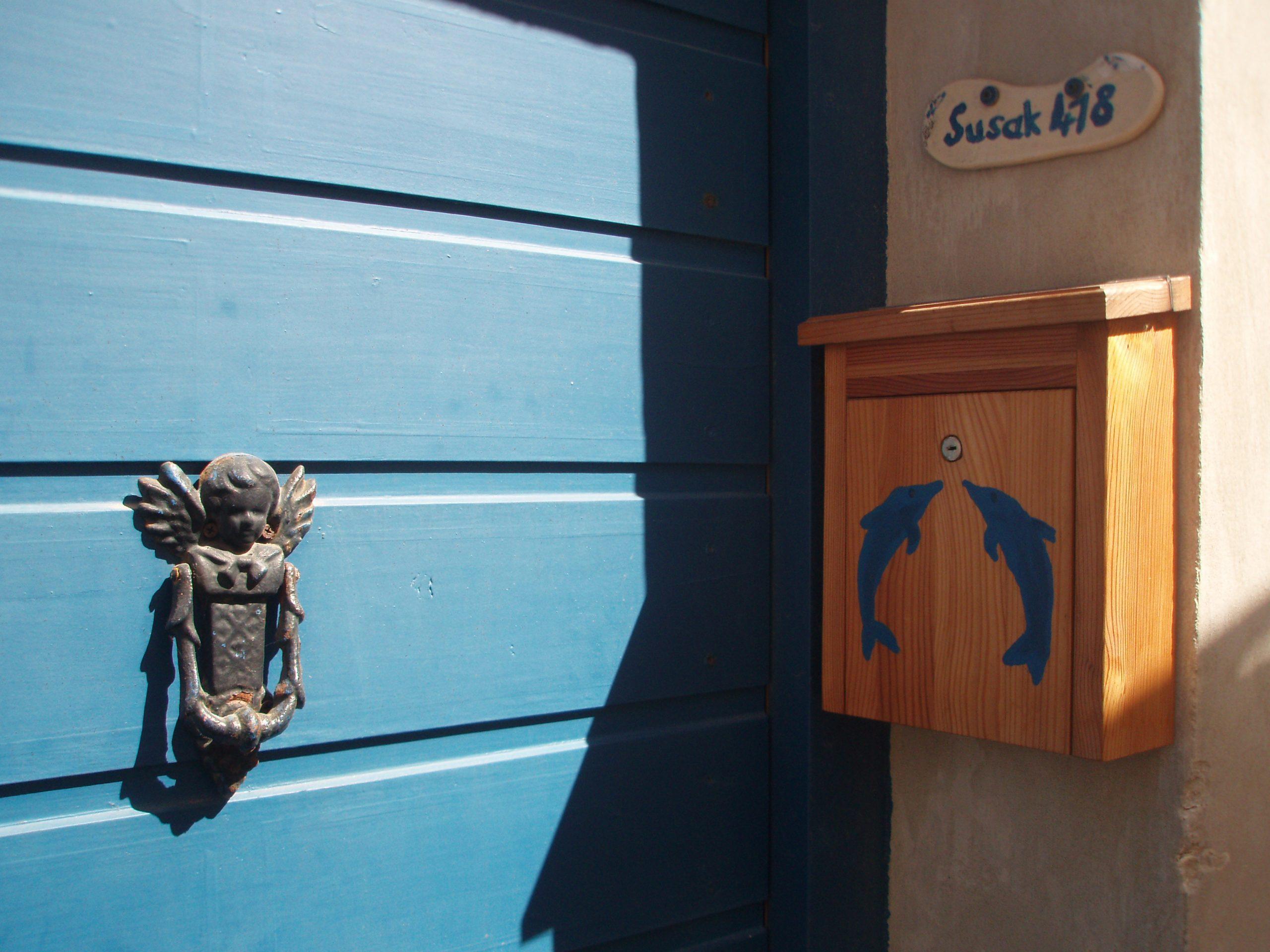 Lovely entrance doors on Susak.