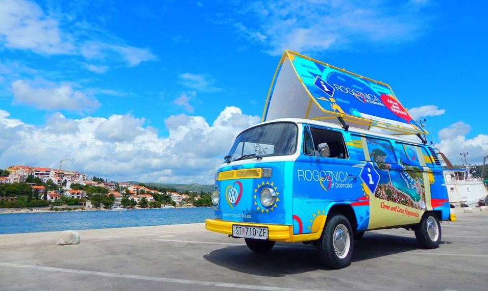[PHOTOS] Look Out for Croatia's First Mobile Tourist Office this Summer
