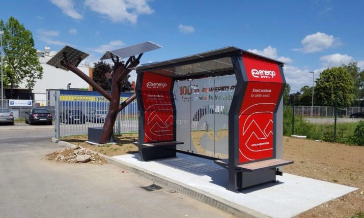 International Interest in Croatian Solar Bus Stop
