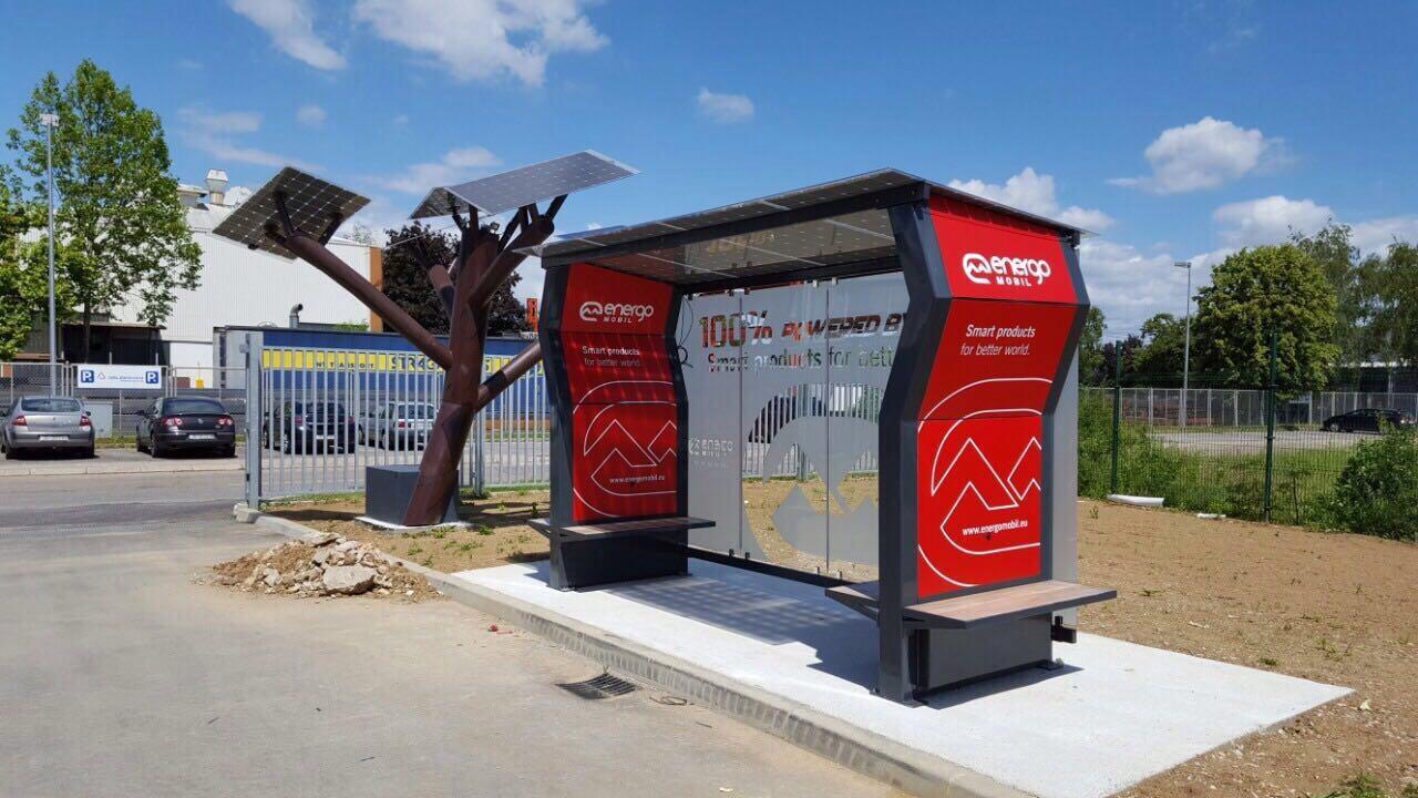 Croatian Solar Bus Stops off to Canada & UAE