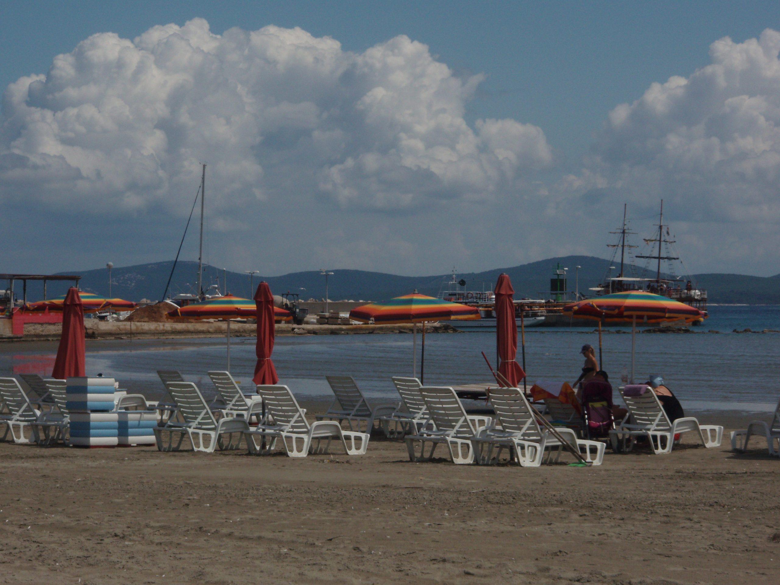 Susak's main beach.