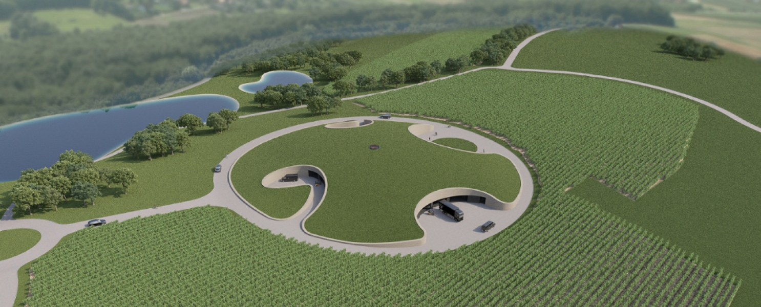 Dva Architekta's winery project in Croatia