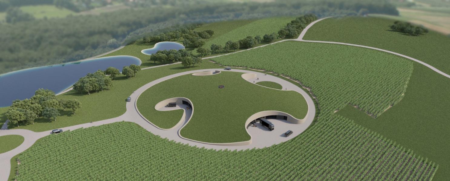 Dva Architekta's winery project in Croatia