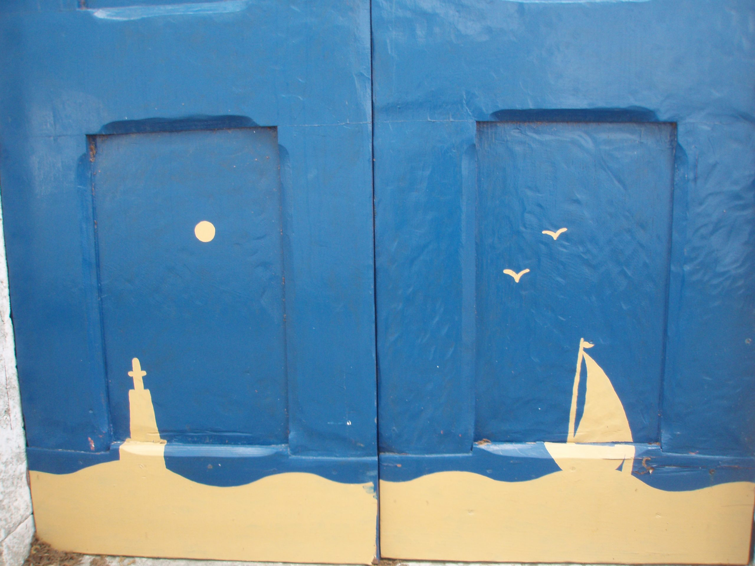 Painted doors on Silba.