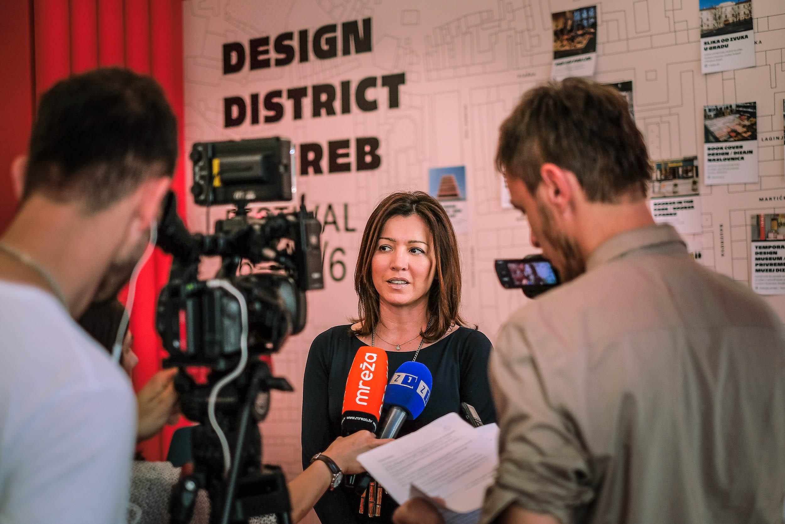 Martina Bienenfeld, director of the Tourist Board of Zagreb (photo: Sanjin Kastelan)