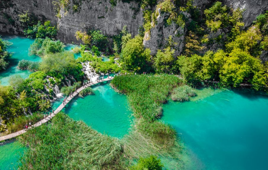 Plitvice Lakes National Park a World Heritage Site (photo credit: Federica Gentile)