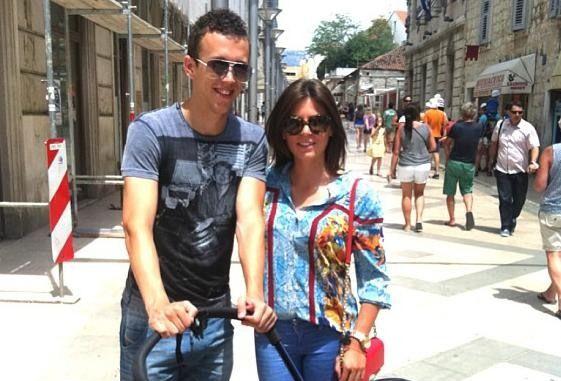 Ivan and Josipa Perišić, (photo: Instagram)
