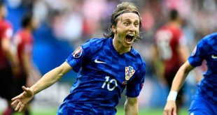 Luka Modrić favoured to be captain (photo credit: UEFA)