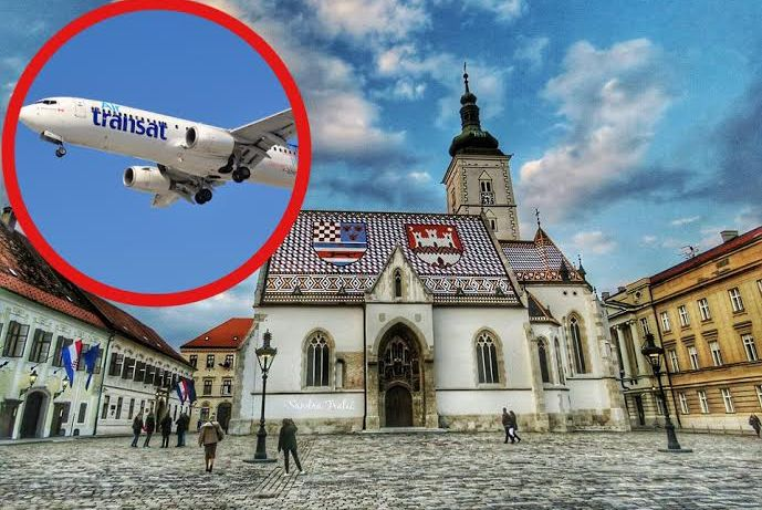 New direct flight to Zagreb launched today (photo credit: Sandra Tralic)