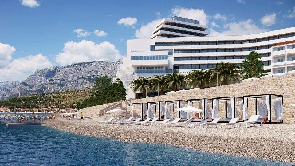 Medora Auri Family Beach Hotel in Podgora