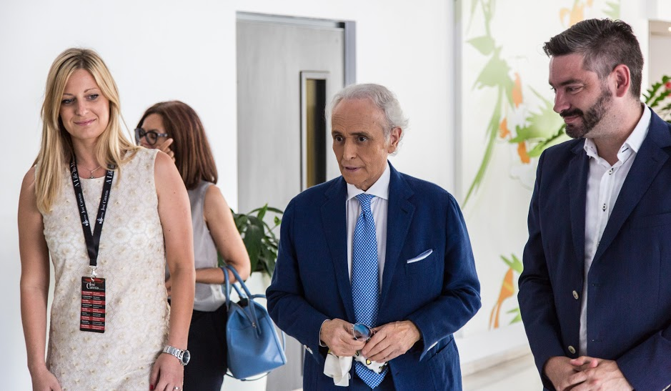 [PHOTOS] José Carreras Arrives in Pula