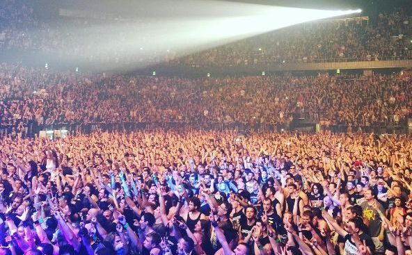 [PHOTOS] Iron Maiden Rock Sell Out Arena in Split