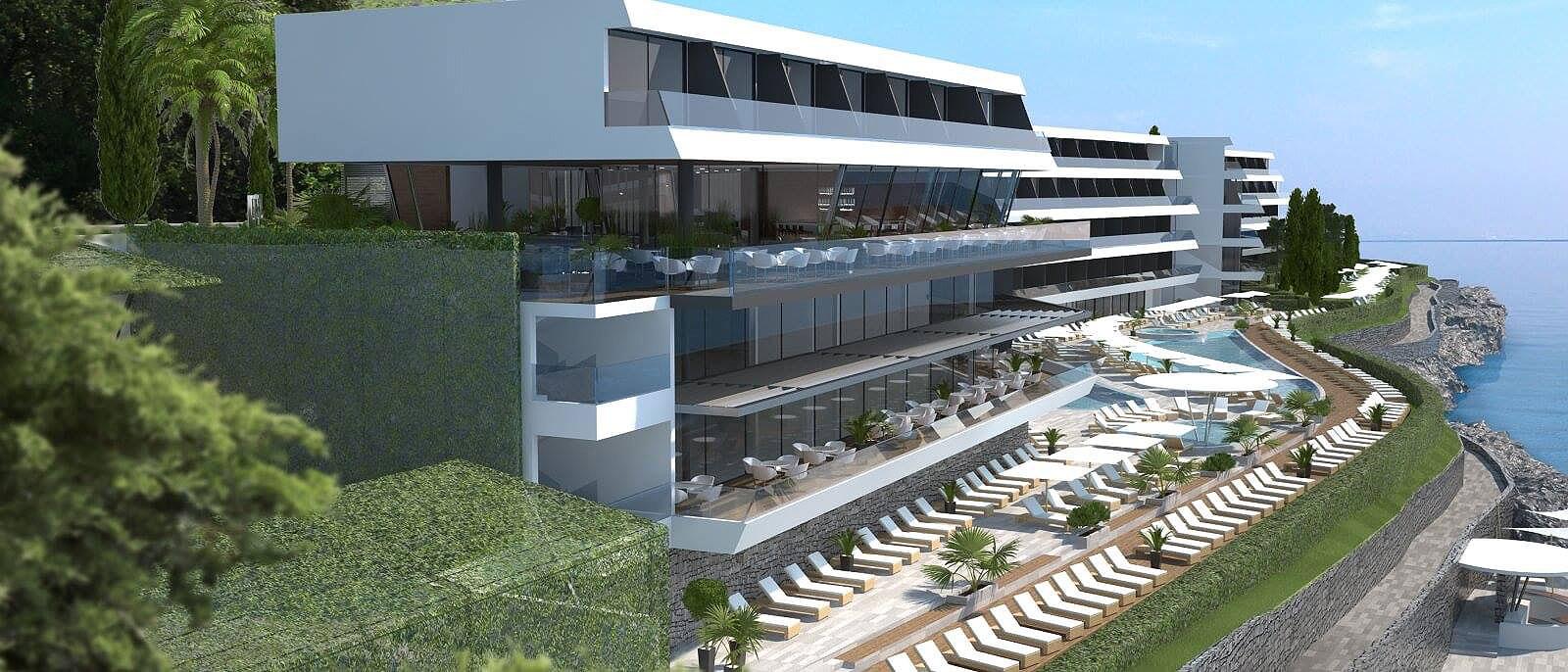 [PHOTOS] Impressive New Hotel for Ičići Near Opatija