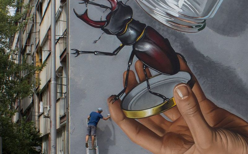 [PHOTOS] Check Out One of Croatia's Biggest Murals by Lonac
