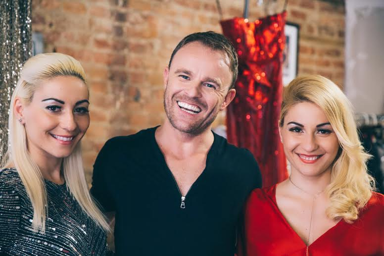 Tajci with Ivana and Marija Curic and Sylvio Kovacic