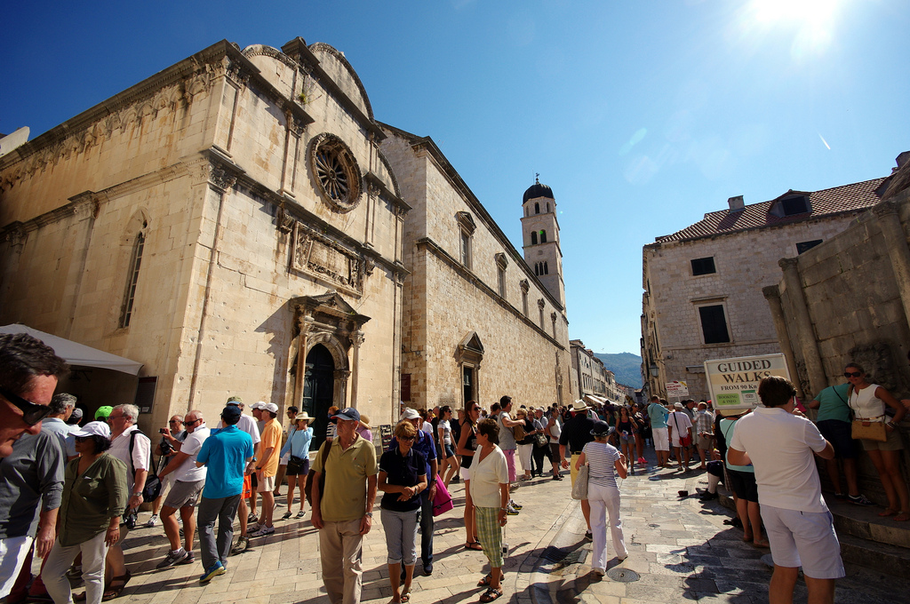 Dubrovnik attracting more people outside of the summer season (photo credit; Twang_Dunga under Creative Commons license)