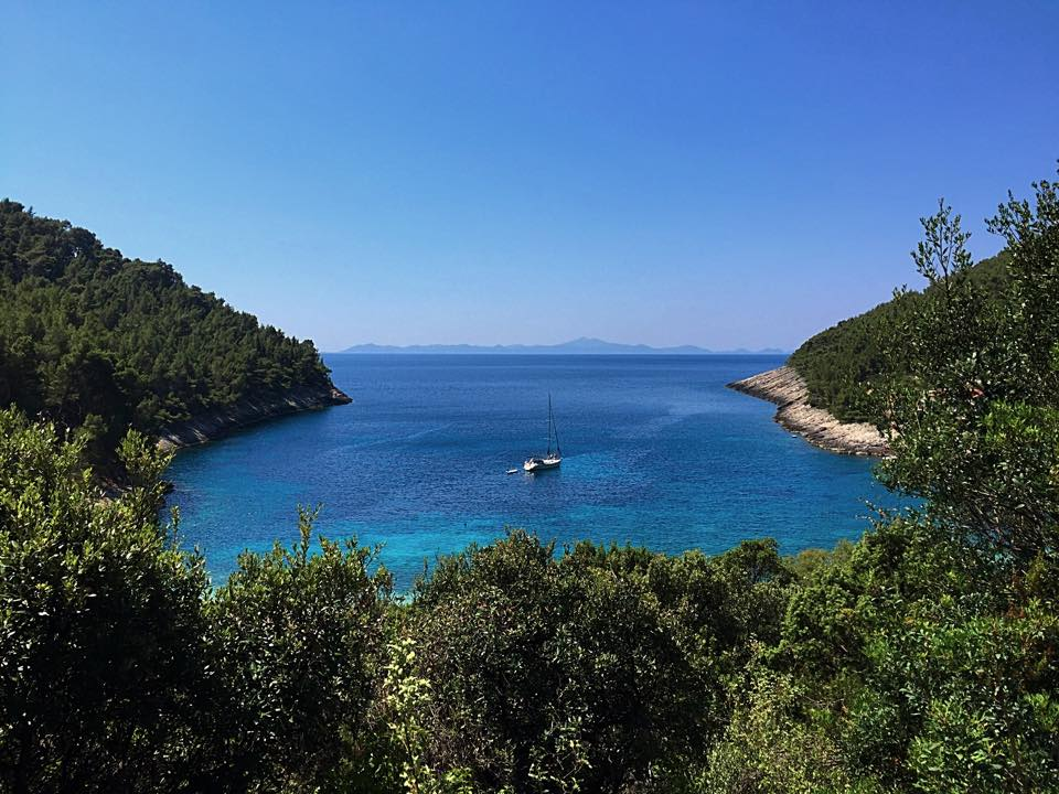 Bačva is another stunning cove around the corner from Pupnatksa Luka