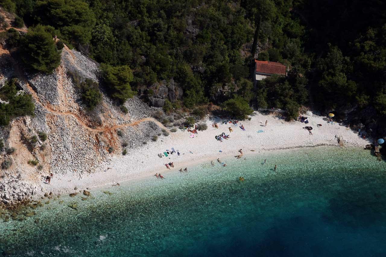 Račišće is situated 12 km west of Korčula old town (photo credit: visitkorcula.eu)