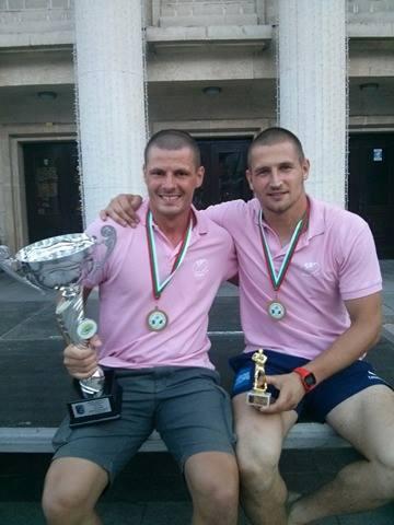 Vedran Antić and Nik Jurišić