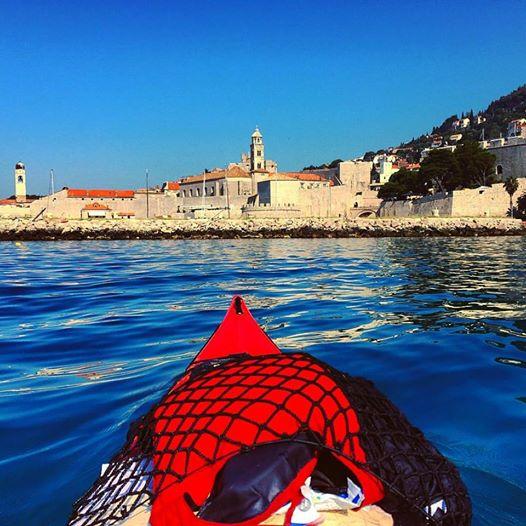 The couple decided to kayak down Croatia's coast