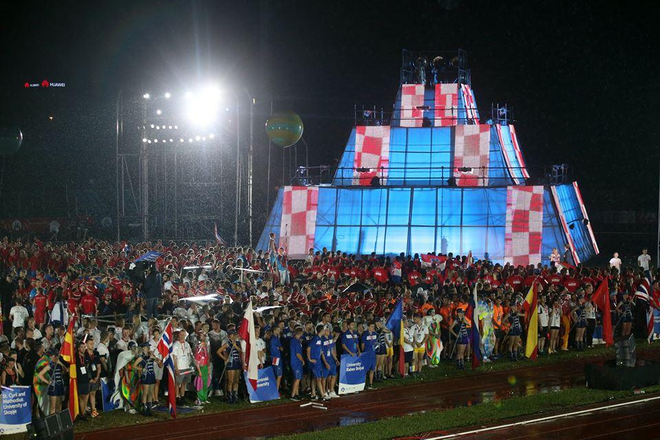 [PHOTOS] 3rd European Universities Games Opens in Croatia