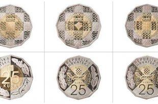 Three designs for new 25 kuna coin (photo: HNB)