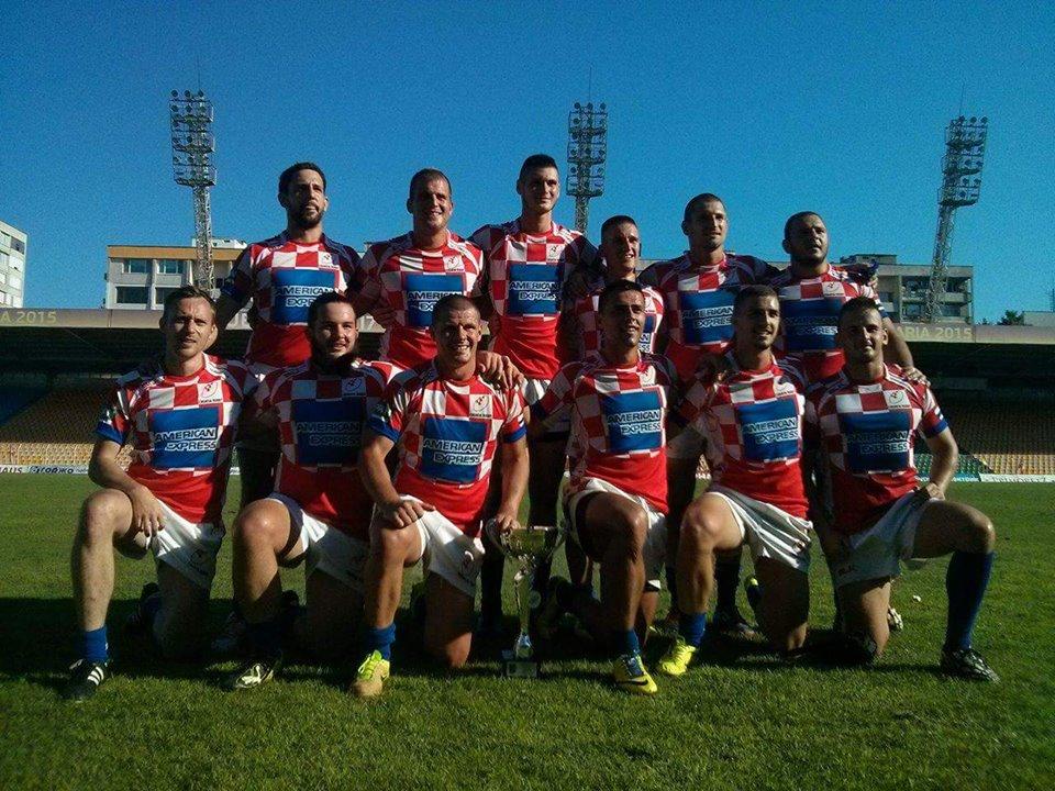 Croatian Rugby 7s Team Win European Tournament