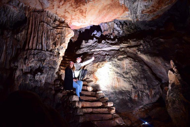 Film Screening in a Cave