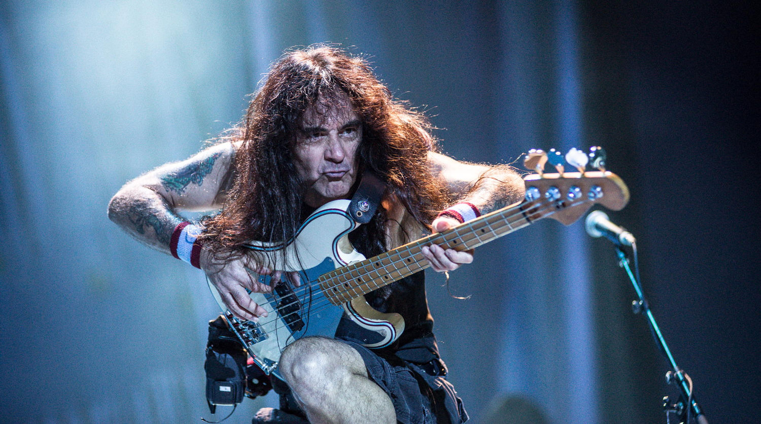 Steve Harris (photo: Guilherme Nozawa)