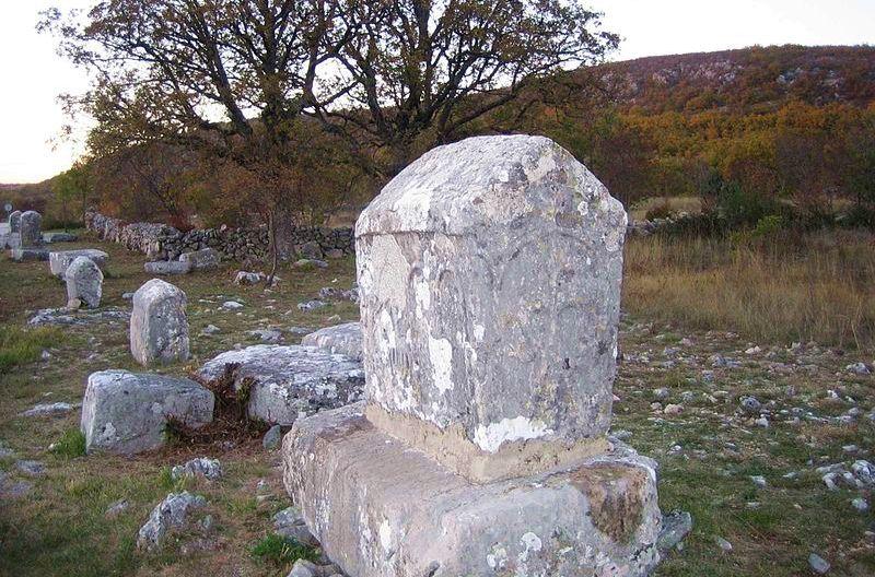 Stecci in Imotski, Croatia (photo: wikimedia/moddzak)