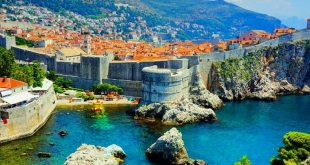 Dubrovnik's famous walls set a new record (photo credit: Alex Ristoski)