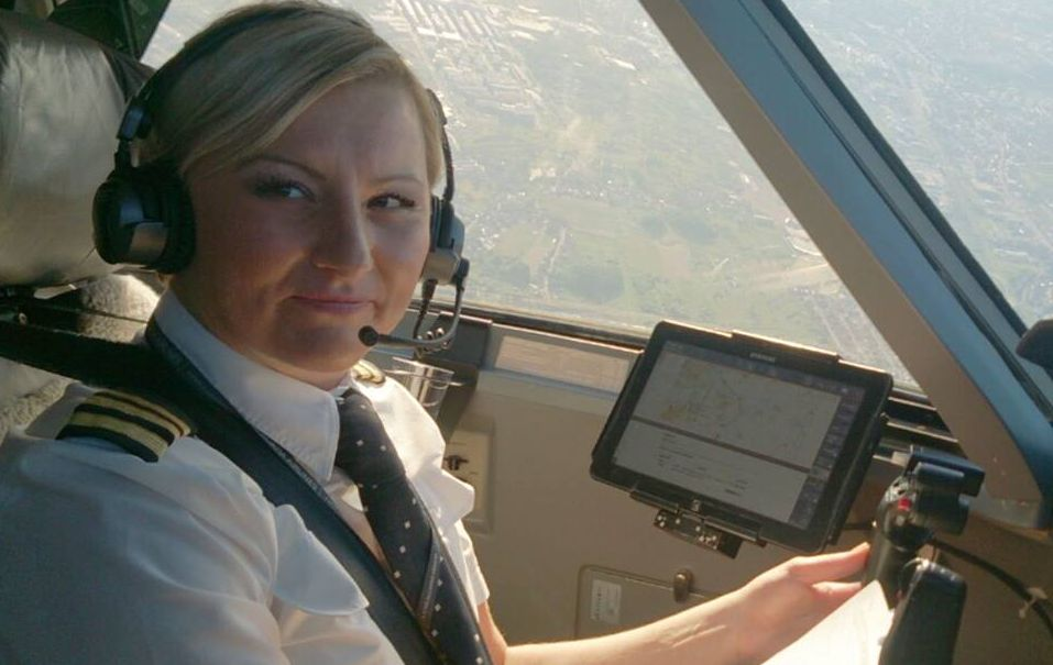 Croatia Airlines Congratulates Only Female Captain in Croatia
