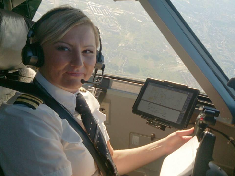 Kristina Mlinarić (photo: Croatia Airlines)