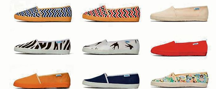 Espadrilles making a comeback (photo: Startas)