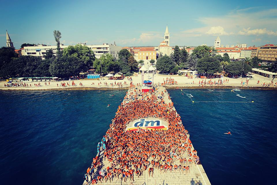 Zadar waterfront place to be this Saturday (photo: Filip Brala photos)