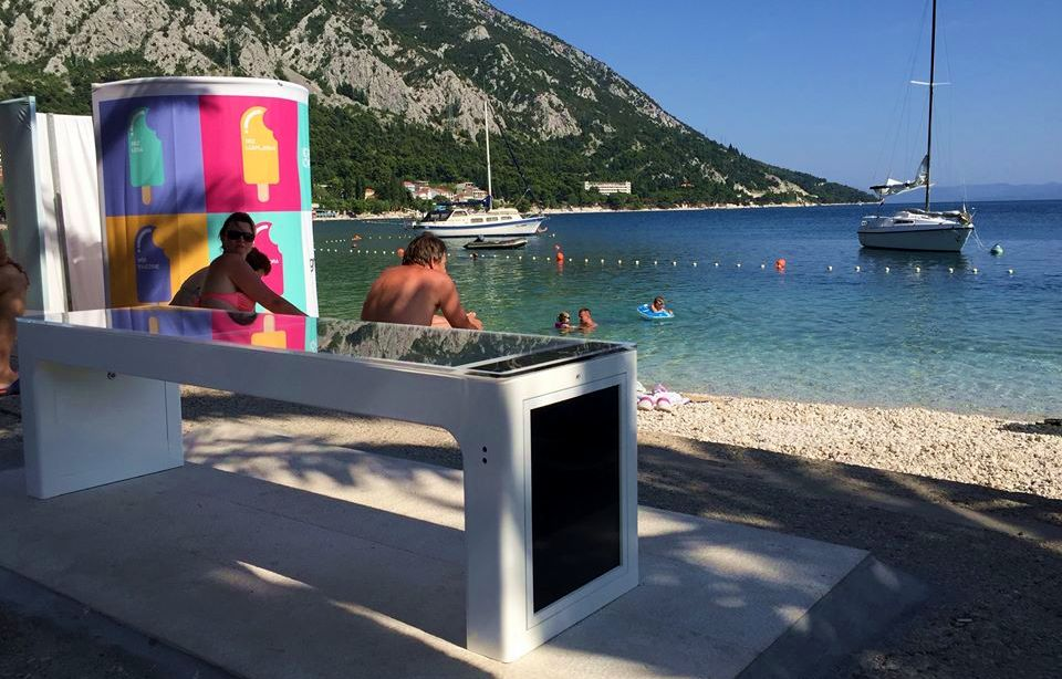 Croatian Smart Benches off to Australia