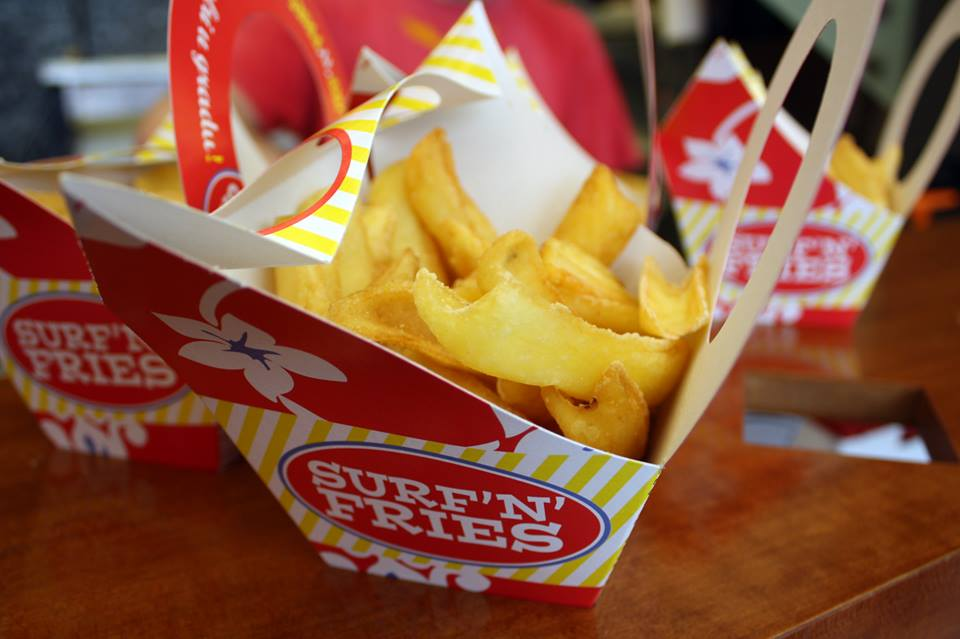 First Croatian Surf'n'Fries Opens in Moscow