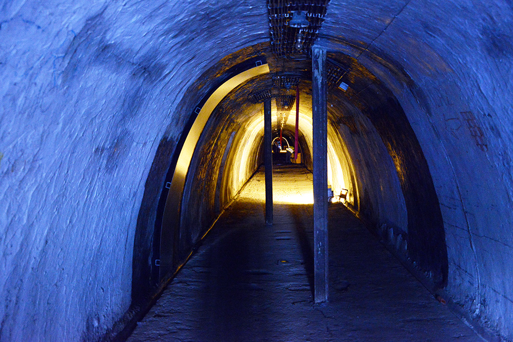 World War II Grič Tunnel in Zagreb Opens to the Public