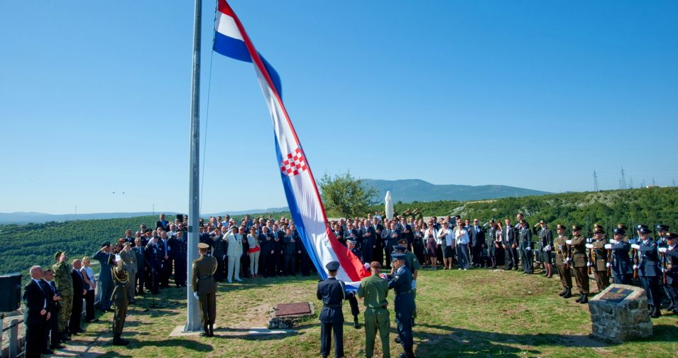 Croatia Celebrates 21st Victory & Homeland Thanksgiving & War Veteran's Day