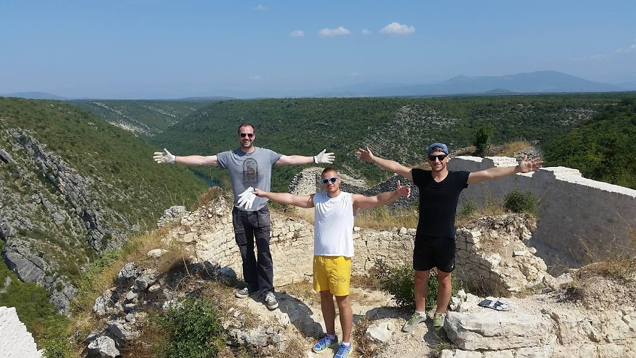 Young Croatians From Abroad Maintaining Natural & Cultural Treasures in Šibenik