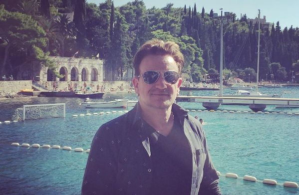 Bono Vox in Cavtat (photo: Instagram)