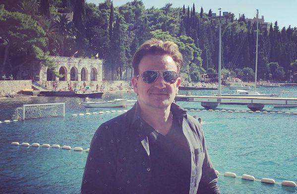 Bono Vox in Cavtat (photo: Instagram)