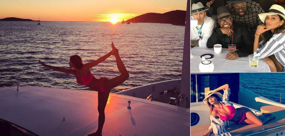 Black Eyed Peas & Nicole Scherzinger Holidaying in Croatia