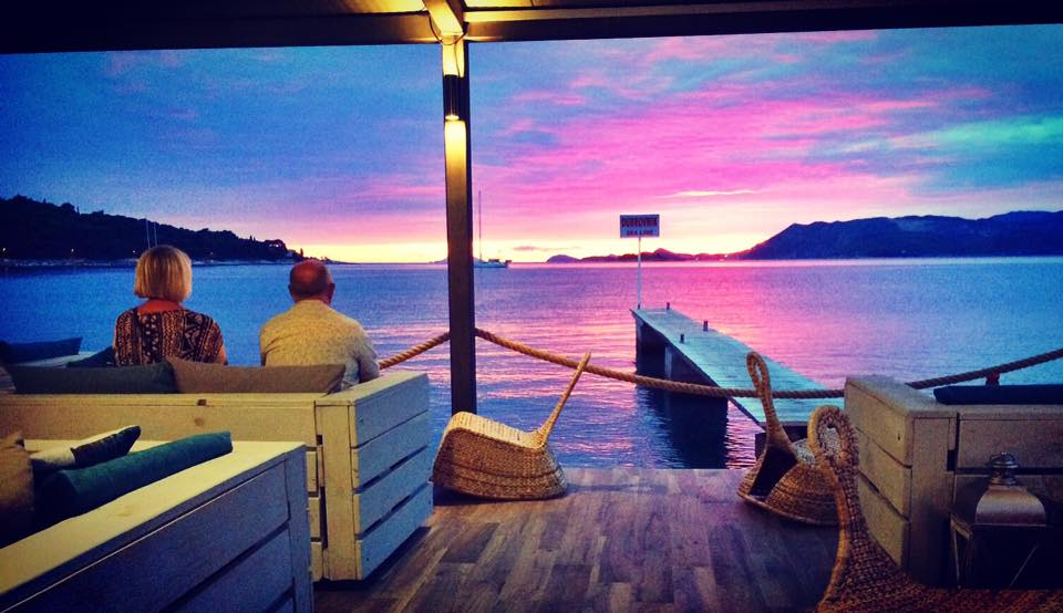 Eve Lounge Bar in Cavtat offers some stunning views (photo credit: Eve Lounge Bar/Facebook)