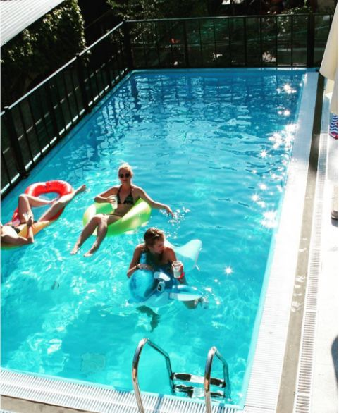 The pool at Swanky Mint (photo: Instagram)