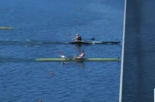 One of the closest races in rowing history (screenshot: www.newshub.co.nz)