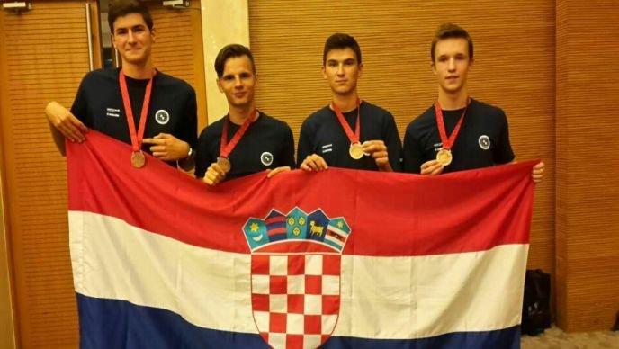 Successful Croatian team (photo credit:  Croatian Geographical Association)