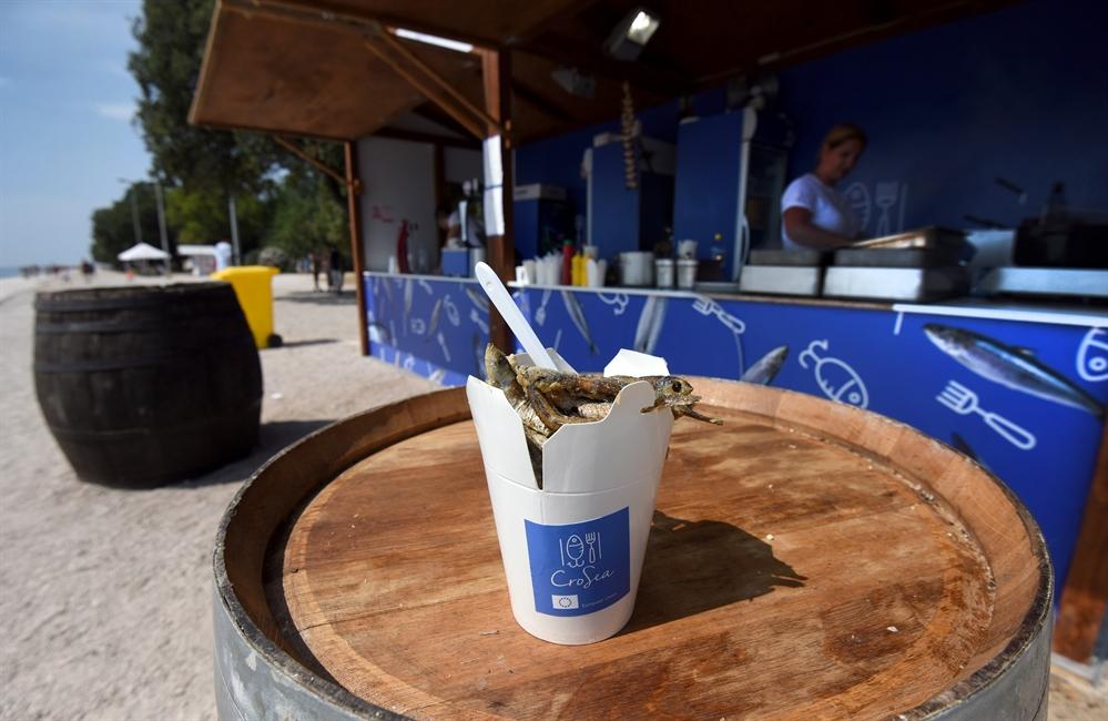 CroSea – First Adriatic Fish Fast Food in Zadar