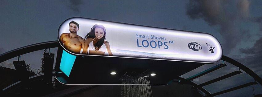 [PHOTOS] First Croatian Smart Shower Goes Up