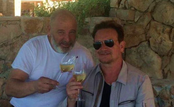 U2 Frontman Bono Vox Blown Away by Croatian Chef